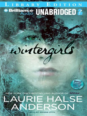 Click this cover for a(n) Audiobook sample of Wintergirls.