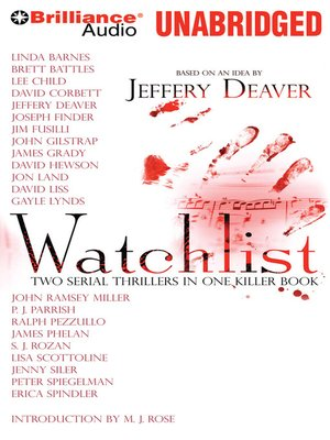 Click this cover for a(n) Audiobook sample of Watchlist.