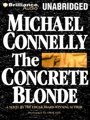 Click this cover for a(n) Audiobook sample of The Concrete Blonde