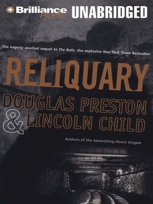 Click this cover for a(n) Audiobook sample of Reliquary.