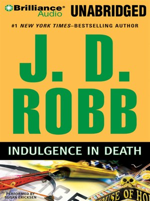 Click this cover for a(n) Audiobook sample of Indulgence in Death.