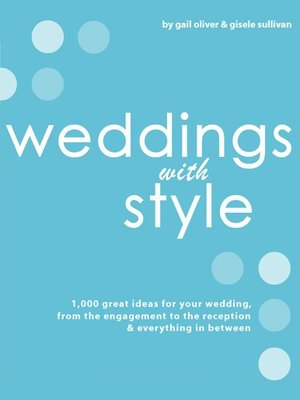 Click this cover for a(n) eBook sample of Weddings with Style