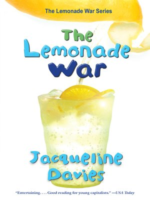 Click this cover for a(n) eBook sample of The Lemonade War.