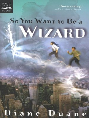 Click this cover for a(n) eBook sample of So You Want to Be a Wizard.