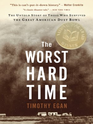 Click this cover for a(n) eBook sample of The Worst Hard Time.