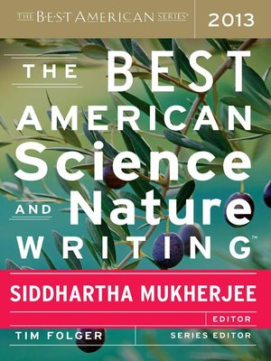 Click this cover for a(n) eBook sample of The Best American Science and Nature Writing 2013.