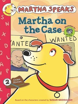 Cover of Martha on the Case