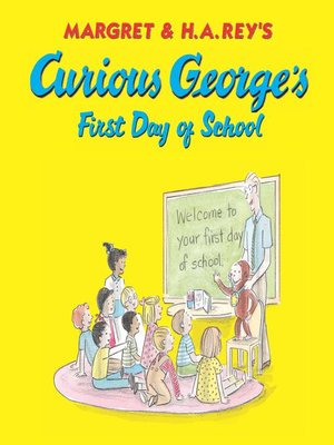 Cover of Curious George's First Day of School