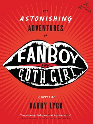 Click this cover for a(n) eBook sample of The Astonishing Adventures of Fanboy and Goth Girl.