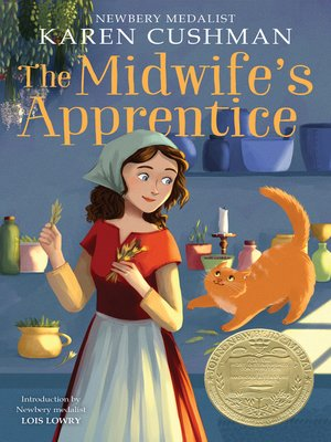 Click this cover for a(n) eBook sample of The Midwife's Apprentice.