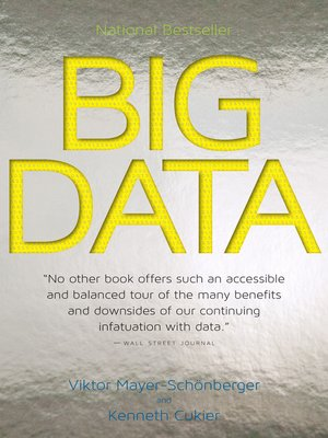 Click this cover for a(n) eBook sample of Big Data