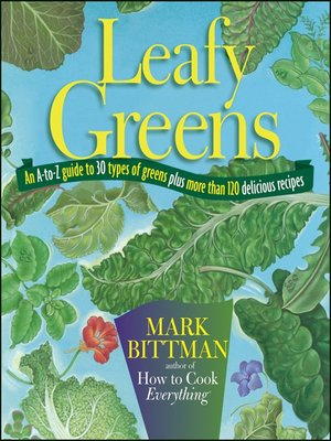 Click this cover for a(n) eBook sample of Leafy Greens
