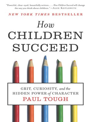 Click this cover for a(n) eBook sample of How Children Succeed.