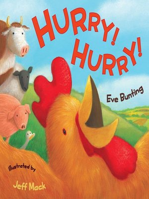 Cover of Hurry! Hurry!