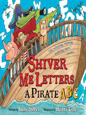 Cover of Shiver Me Letters