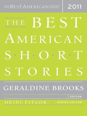 Cover image for The Best American Short Stories 2011