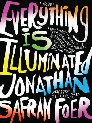Click this cover for a(n) eBook sample of Everything Is Illuminated.