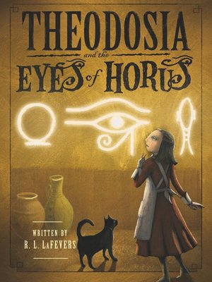 Cover of Theodosia and the Eyes of Horus