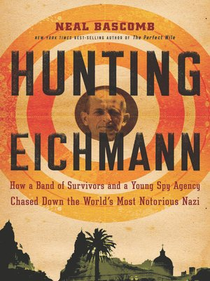 Click this cover for a(n) eBook sample of Hunting Eichmann