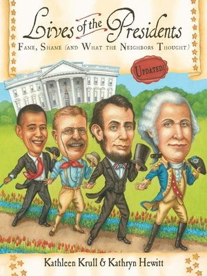 Click this cover for a(n) eBook sample of Lives of the Presidents