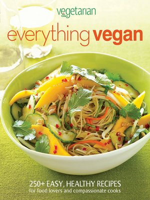 Click this cover for a(n) eBook sample of Vegetarian Times Everything Vegan