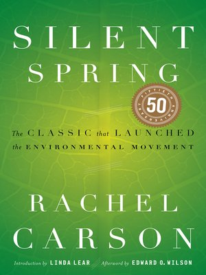 Click this cover for a(n) eBook sample of Silent Spring.