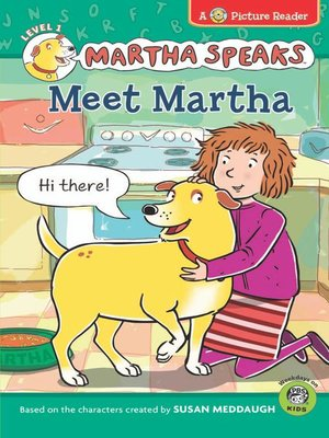 Click this cover for a(n) eBook sample of Meet Martha