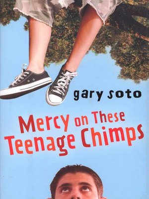 Click this cover for a(n) eBook sample of Mercy on These Teenage Chimps.
