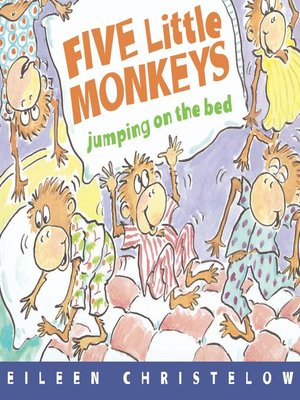 Click this cover for a(n) eBook sample of Five Little Monkeys Jumping on the Bed