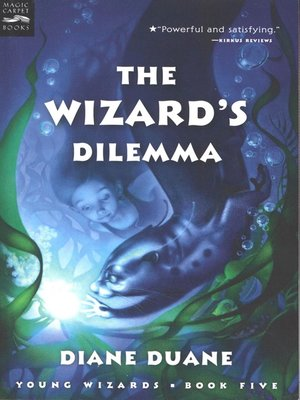 Click this cover for a(n) eBook sample of The Wizard's Dilemma.