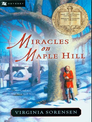Cover of Miracles on Maple Hill