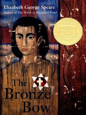 Click this cover for a(n) eBook sample of The Bronze Bow.