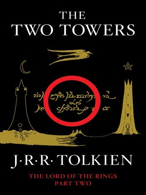 Click this cover for a(n) eBook sample of The Two Towers
