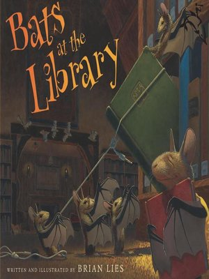 Cover of Bats at the Library