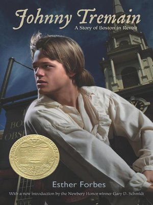 Click this cover for a(n) eBook sample of Johnny Tremain