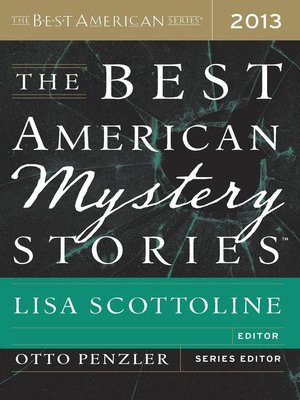 Cover of The Best American Mystery Stories 2013