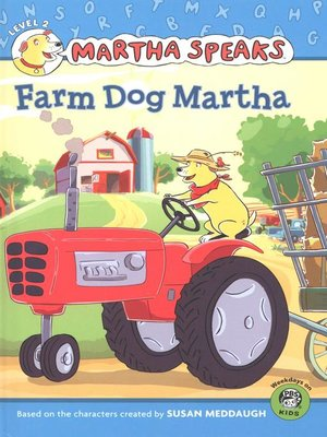 Click this cover for a(n) eBook sample of Farm Dog Martha.
