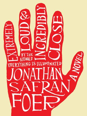 Click this cover for a(n) eBook sample of Extremely Loud and Incredibly Close.