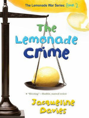 Cover of The Lemonade Crime