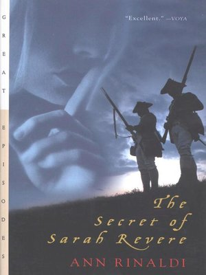 Cover of The Secret of Sarah Revere