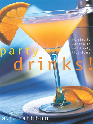 Click this cover for a(n) eBook sample of Party Drinks!.