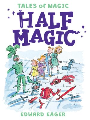 Click this cover for a(n) eBook sample of Half Magic.