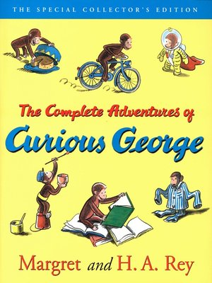 Click this cover for a(n) eBook sample of The Curious George Complete Adventures