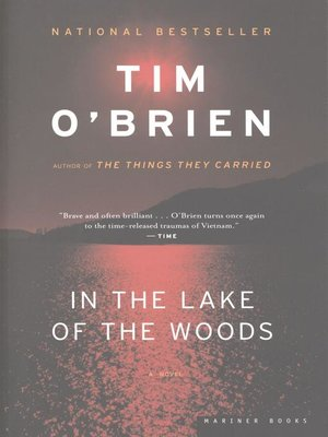 Cover of In the Lake of the Woods
