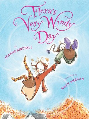 Click this cover for a(n) eBook sample of Flora's Very Windy Day.