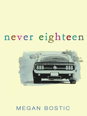 Click this cover for a(n) eBook sample of Never Eighteen.