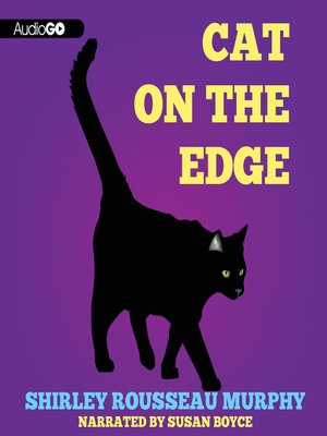 Click this cover for a(n) Audiobook sample of Cat on the Edge
