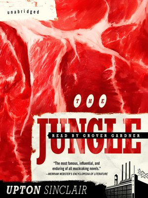 Click this cover for a(n) Audiobook sample of The Jungle