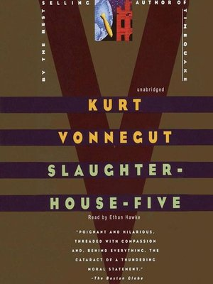 Click this cover for a(n) Audiobook sample of Slaughterhouse-Five