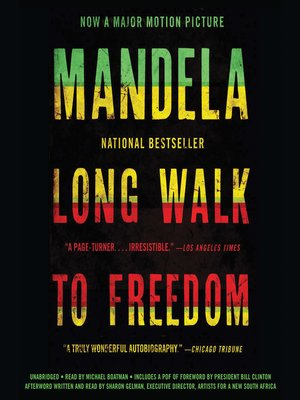 Click this cover for a(n) Audiobook sample of Long Walk to Freedom.